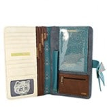Disaster Designs Meow Travel Wallet Inside