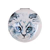 Disaster Designs Meow Handbag Mirror