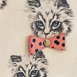 Disaster Designs Meow Wallet Repeat Print Closeup